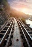 De Doodsspoorweg Stock Fotografie