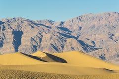 De Doodsvallei van Mesquite Vlakke Duinen Stock Afbeeldingen