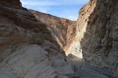 De Doodsvallei Zuidelijk Californië van de mozaïekcanion Royalty-vrije Stock Fotografie