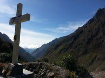 De Doodsweg in Yungas, Bolivië, Zuid-Amerika Stock Foto