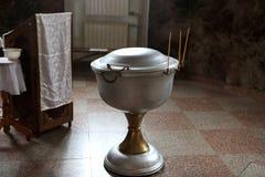 De doopdoopvont Stock Afbeeldingen