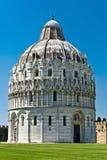 De Doopkapel, Pisa, Italië Stock Foto's