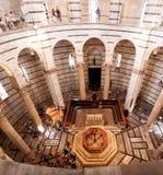 De doopkapel van Pisa Stock Afbeelding