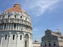 De Doopkapel van Pisa Royalty-vrije Stock Foto