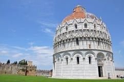De Doopkapel van Pisa Stock Fotografie