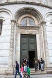 De Doopkapel van Pisa Royalty-vrije Stock Foto's