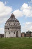 De Doopkapel van Pisa Royalty-vrije Stock Fotografie
