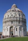 De Doopkapel van Pisa. Italië Royalty-vrije Stock Foto's