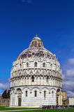 De Doopkapel van Pisa, Italië Royalty-vrije Stock Afbeeldingen