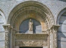 De Doopkapel van Pisa, Italië Stock Afbeelding