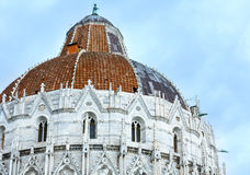 De Doopkapel van Pisa (Italië) Royalty-vrije Stock Afbeelding