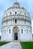 De Doopkapel van Pisa (Italië) Stock Afbeelding
