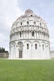 De Doopkapel van Pisa, Pisa, Italië Stock Afbeelding