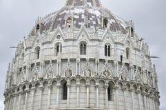 De Doopkapel van Pisa, Pisa, Italië Royalty-vrije Stock Afbeeldingen