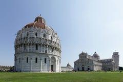 De Doopkapel van Pisa van St John Stock Afbeeldingen