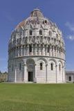 De Doopkapel van Pisa van St John Stock Afbeelding