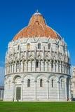 De Doopkapel van San Giovanni van Pisa, Italië Royalty-vrije Stock Afbeelding