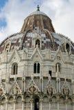 De doopkapel van St. John, Pisa, Royalty-vrije Stock Afbeeldingen