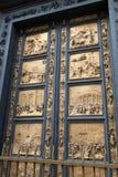 De Doopkapeldeuren van Ghiberti Stock Afbeelding