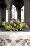 De Doopvont van de kerk Royalty-vrije Stock Foto's