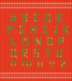 De Doopvont van het stekenlapwerk, Vector Kleurrijk Motley Stock Afbeelding