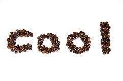 De doopvont van koffiebonen Royalty-vrije Stock Foto