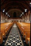 De doorgang van de kerk Stock Fotografie