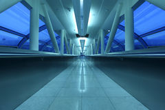 De doorgang van de luchthaven in Doubai Royalty-vrije Stock Fotografie