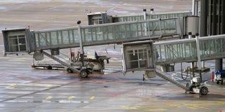 De doorgangen van de luchthaven Stock Foto's