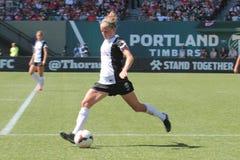 De Doornen van Portland versus Seattle Stock Afbeeldingen