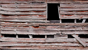 De doorstane houten achtergrond van de plankschuur Royalty-vrije Stock Foto
