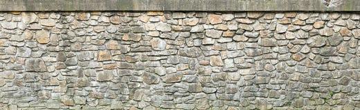 De doorstane textuur van de steenmuur Royalty-vrije Stock Foto's