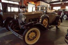 de doorwaadbare plaats van 1931 modelleert een open tweepersoonsauto Royalty-vrije Stock Foto's