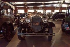 de doorwaadbare plaats van 1931 modelleert een open tweepersoonsauto Stock Foto