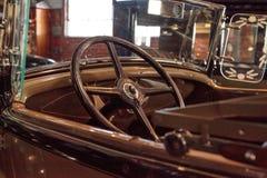 de doorwaadbare plaats van 1931 modelleert een open tweepersoonsauto Royalty-vrije Stock Afbeeldingen