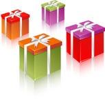 De doos en de zak van de gift Royalty-vrije Stock Foto