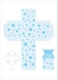 De doos template2 van de gift vector illustratie