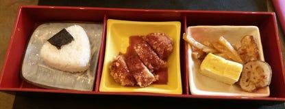 De doos van Bento stock foto