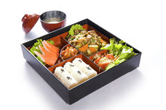 De doos van Bento Royalty-vrije Stock Afbeeldingen