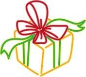 De doos van de gift Royalty-vrije Stock Afbeeldingen