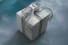 De doos van de gift. Royalty-vrije Stock Fotografie