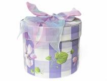 De doos van de gift met een boog Stock Afbeelding