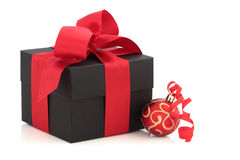 De Doos van de Gift van Kerstmis Royalty-vrije Stock Fotografie