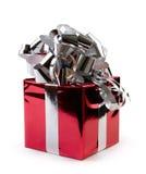 De Doos van de Gift van Kerstmis Stock Foto's