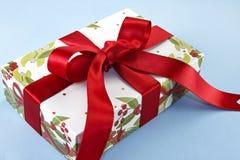 De Doos van de Gift van Kerstmis Stock Fotografie