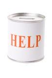 De Doos van de hulp Stock Foto's