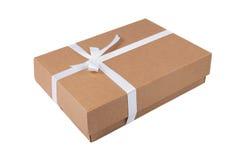 De doos van de kartongift royalty-vrije stock afbeeldingen