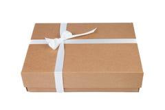 De doos van de kartongift stock afbeelding