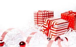 De Doos van de Kerstmisgift stock afbeeldingen