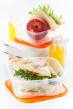 De doos van de lunch Royalty-vrije Stock Fotografie